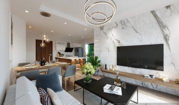 [The Zen Residence] Thiết kế căn 03 ngủ – Căn 04