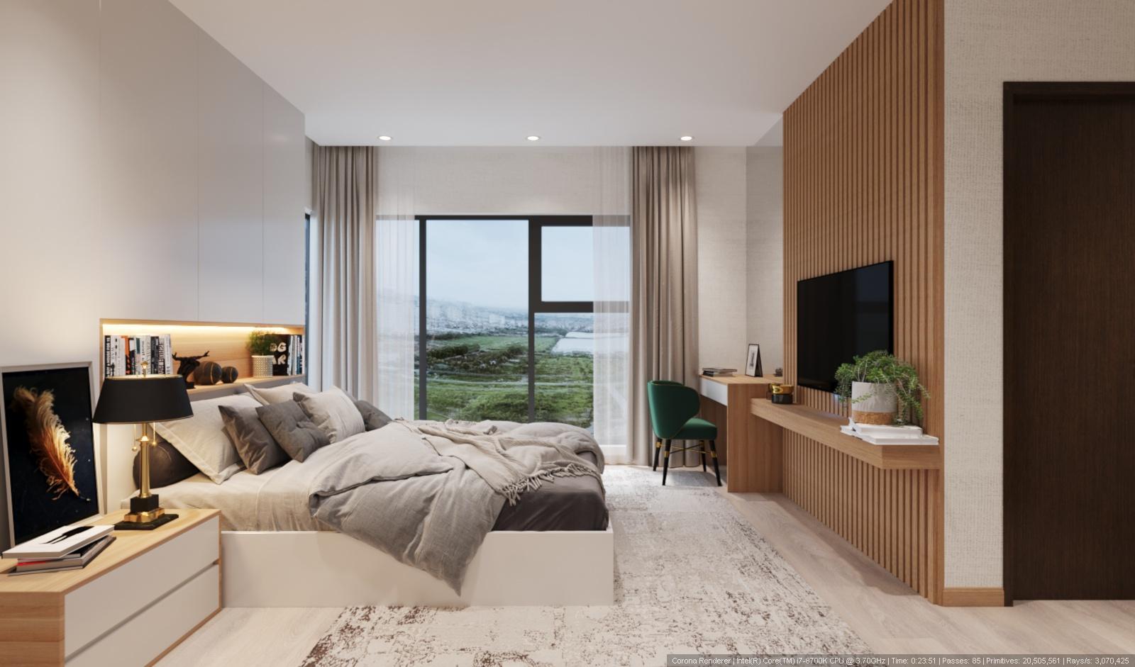 [The Zen Residence] Thiết kế căn 03 ngủ – Căn 08