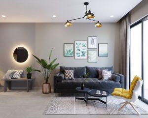 [ Celadon Emerald ] Thiết kế căn hộ 2 phòng ngủ– C 01 – Gói Style
