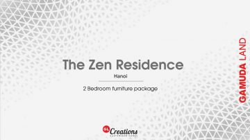 [ HK Package ] Concept & Design for 2-Bedroom Apartment – The Zen Residence