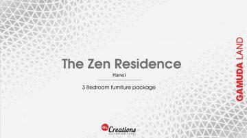 [ HK Package ] Concept & Design for 3-Bedroom Apartment – The Zen Residence