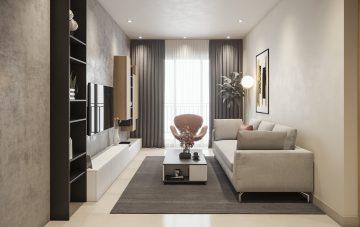 [ Celadon Emerald ] Thiết kế căn hộ 2 phòng ngủ– C 14 – Gói Standard